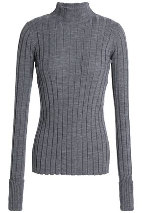 THEORY Ribbed merino wool sweater