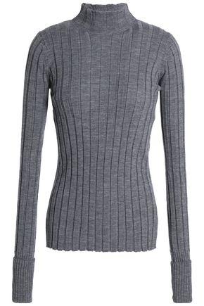THEORY リブ編み メリノウール セーター