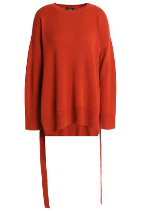 THEORY Draped cashmere sweater