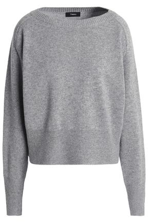 THEORY Mélange cashmere sweater