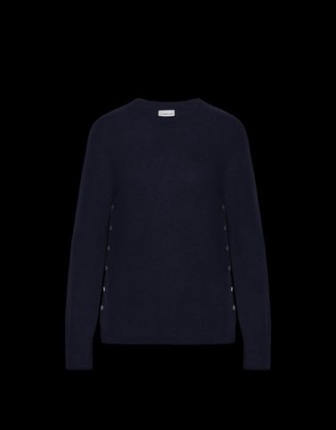 MONCLER CREWNECK - Cashmere jumpers - women