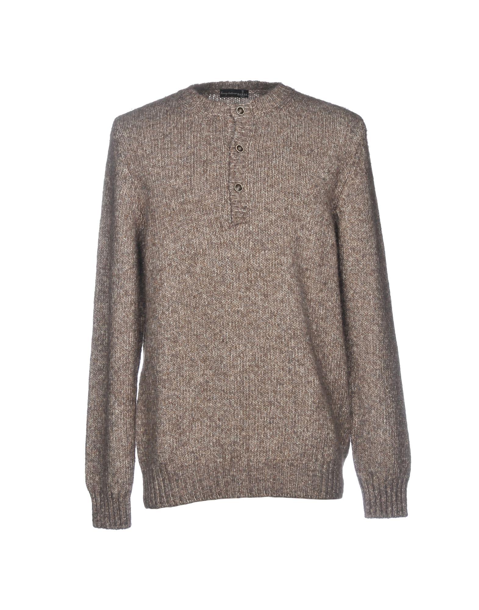 BARBA NAPOLI Sweater in Grey