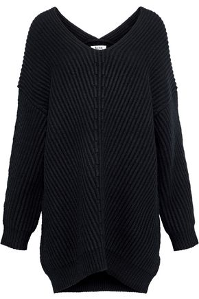 ACNE STUDIOS Ribbed-knit wool sweater