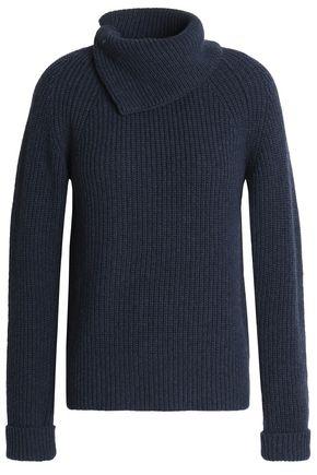 AGNONA Ribbed cashmere top