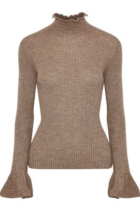 ACNE STUDIOS Raine ribbed alpaca and wool-blend turtleneck sweater
