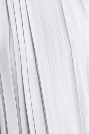 EMILIO PUCCI Pleated stretch-knit top