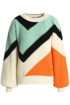 EMILIO PUCCI Intarsia cashmere sweater