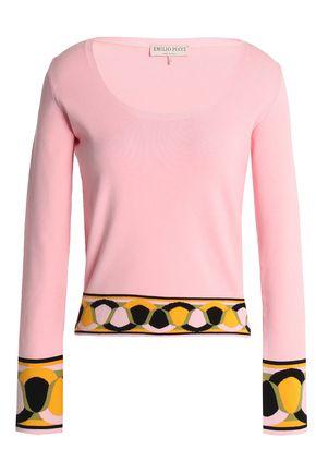 EMILIO PUCCI Intarsia-knit sweater