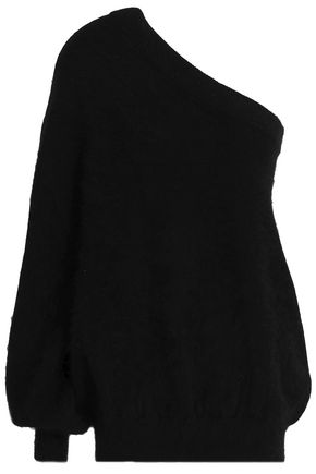 EMILIO PUCCI One-shoulder angora-blend sweater