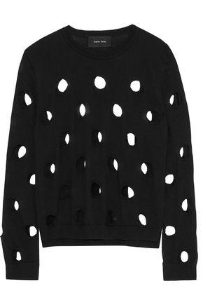 SIMONE ROCHA Cutout wool-blend sweater
