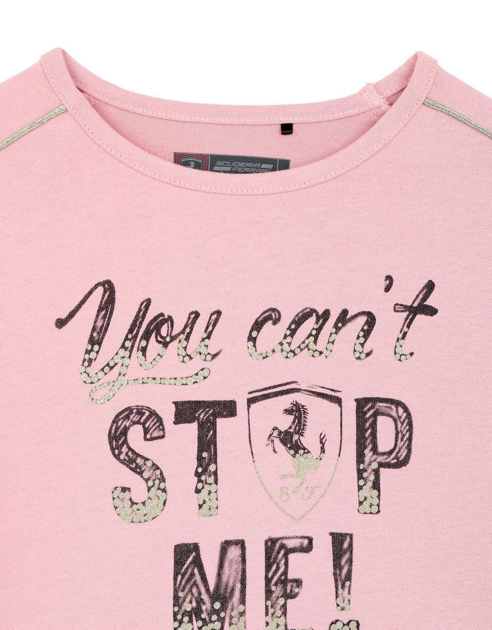 Scuderia Ferrari Online Store - Sweat-shirt fille « You can't stop me ! » - T-shirts à manches longues