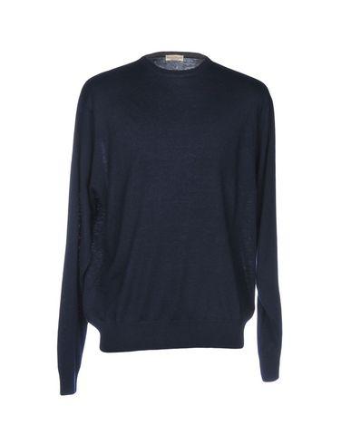 Фото - Мужской свитер CASHMERE COMPANY темно-синего цвета