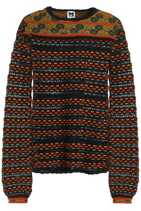 M MISSONI Jacquard-knit sweater