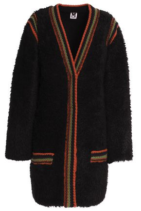 M MISSONI Crochet-trimmed faux fur coat
