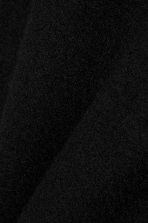 RICK OWENS Brushed-cashmere mini dress
