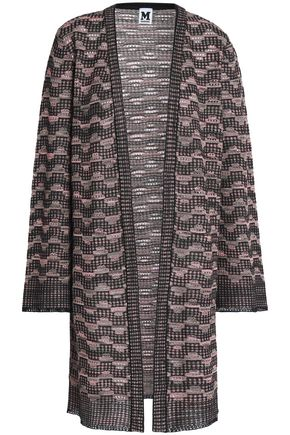 M MISSONI Metallic crochet-knit cardigan