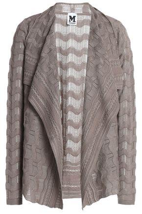M MISSONI Crocheted wool-blend cardigan