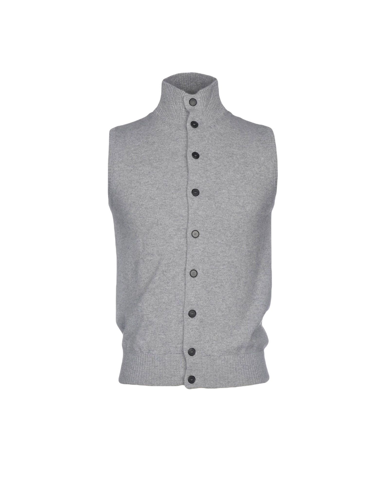 ARAN CASHMERE Cardigan in Light Grey