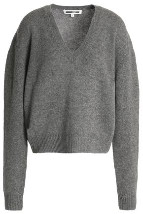 McQ Alexander McQueen Wool and cashmere-blend sweater
