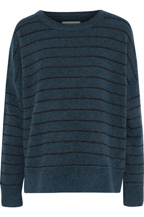 BY MALENE BIRGER Andoles striped stretch-knit sweater