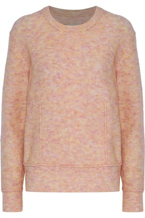 BY MALENE BIRGER Balancia marled stretch-knit sweater
