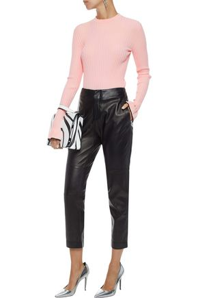 EMILIO PUCCI Fluted ribbed-knit top