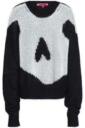 McQ Alexander McQueen Intarsia-knit sweater