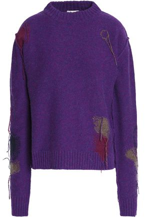 ACNE STUDIOS Frayed wool sweater