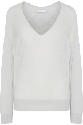 IRO Wool and cashmere-blend top