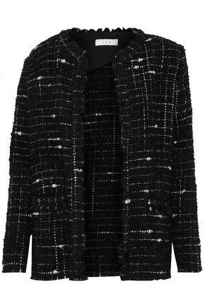 IRO Frayed bouclé-tweed blazer