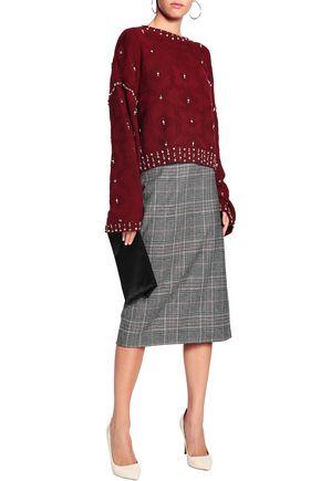 JONATHAN SIMKHAI Embellished wool jacquard sweater