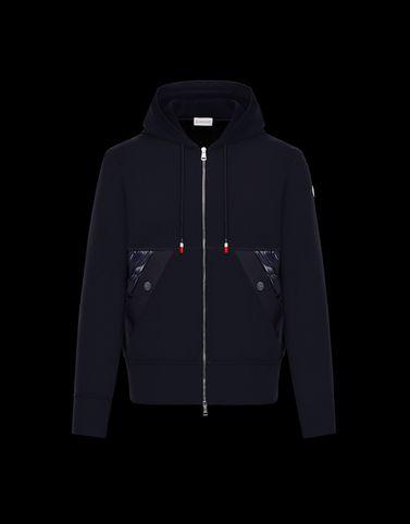 MONCLER SWEATSHIRT - Lined sweatshirts - men