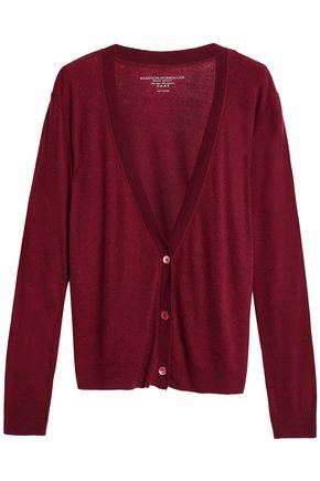 MAJESTIC FILATURES Cotton and cashmere-blend cardigan