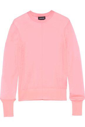 CALVIN KLEIN 205W39NYC Slub cashmere sweater