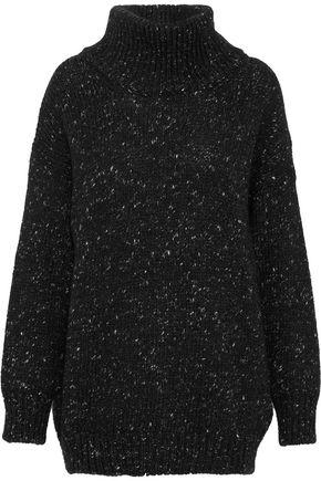 IRO Marled wool, alpaca and silk-blend sweater