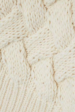 MAJE Mezany cable-knit sweater