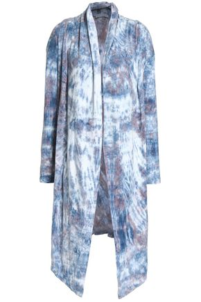 KAIN Tie-dyed cotton and modal-blend jersey jacket