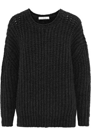 IRO York open-knit wool-blend sweater