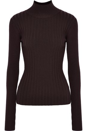 VEDA Arrow ribbed wool-blend turtleneck sweater
