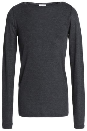 BRUNELLO CUCINELLI Bead-embellished wool sweater