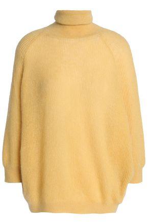 BRUNELLO CUCINELLI Ribbed-knit turtleneck sweater