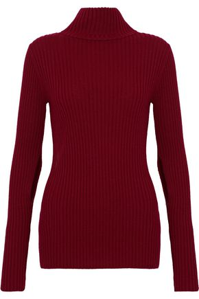 IRO Ribbed wool turtleneck sweater