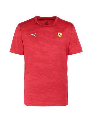 Scuderia Ferrari Online Store - Scuderia Ferrari T-shirt - Short Sleeve T-Shirts