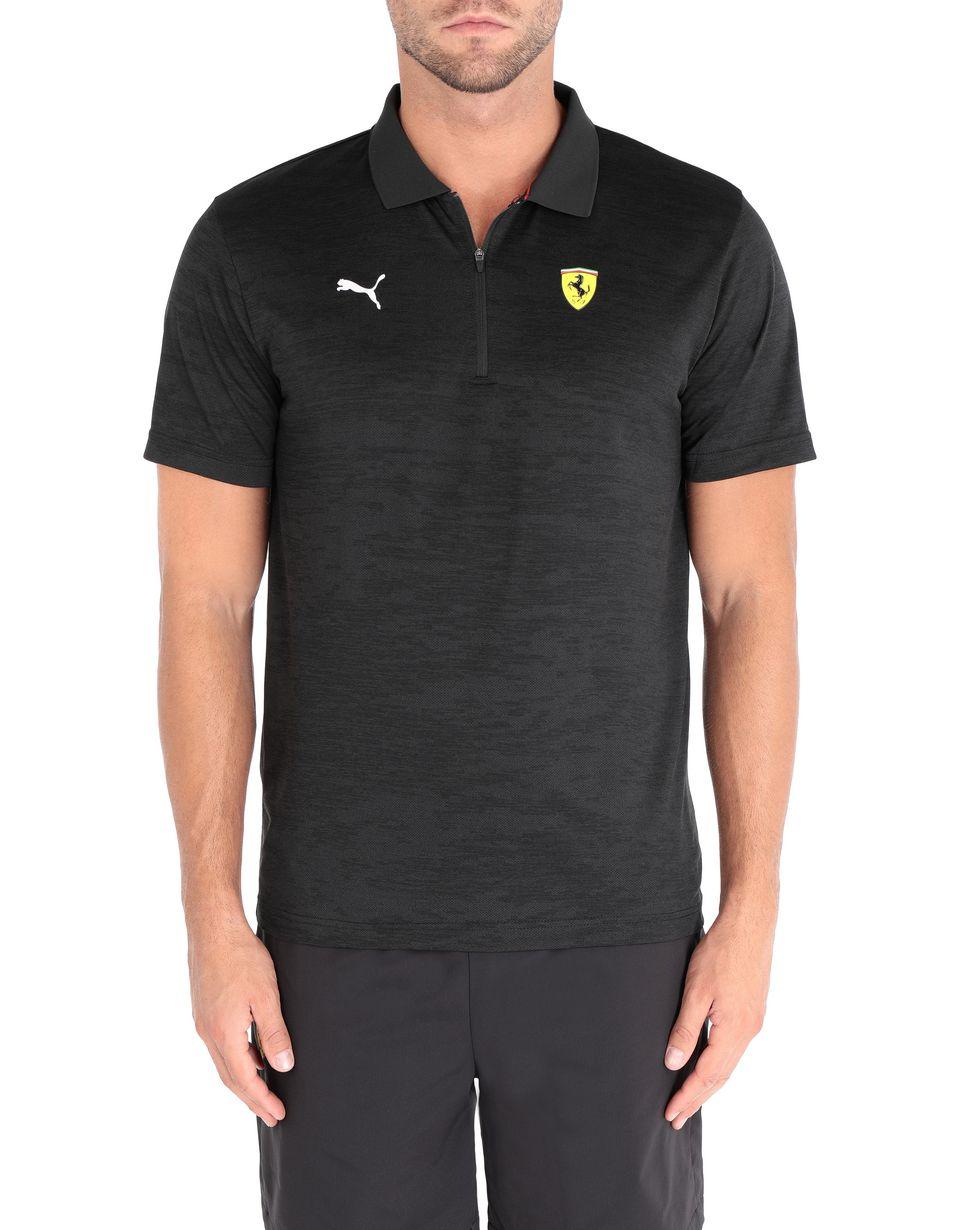 Scuderia Ferrari Online Store - Scuderia Ferrari T-shirt - Short Sleeve Polos