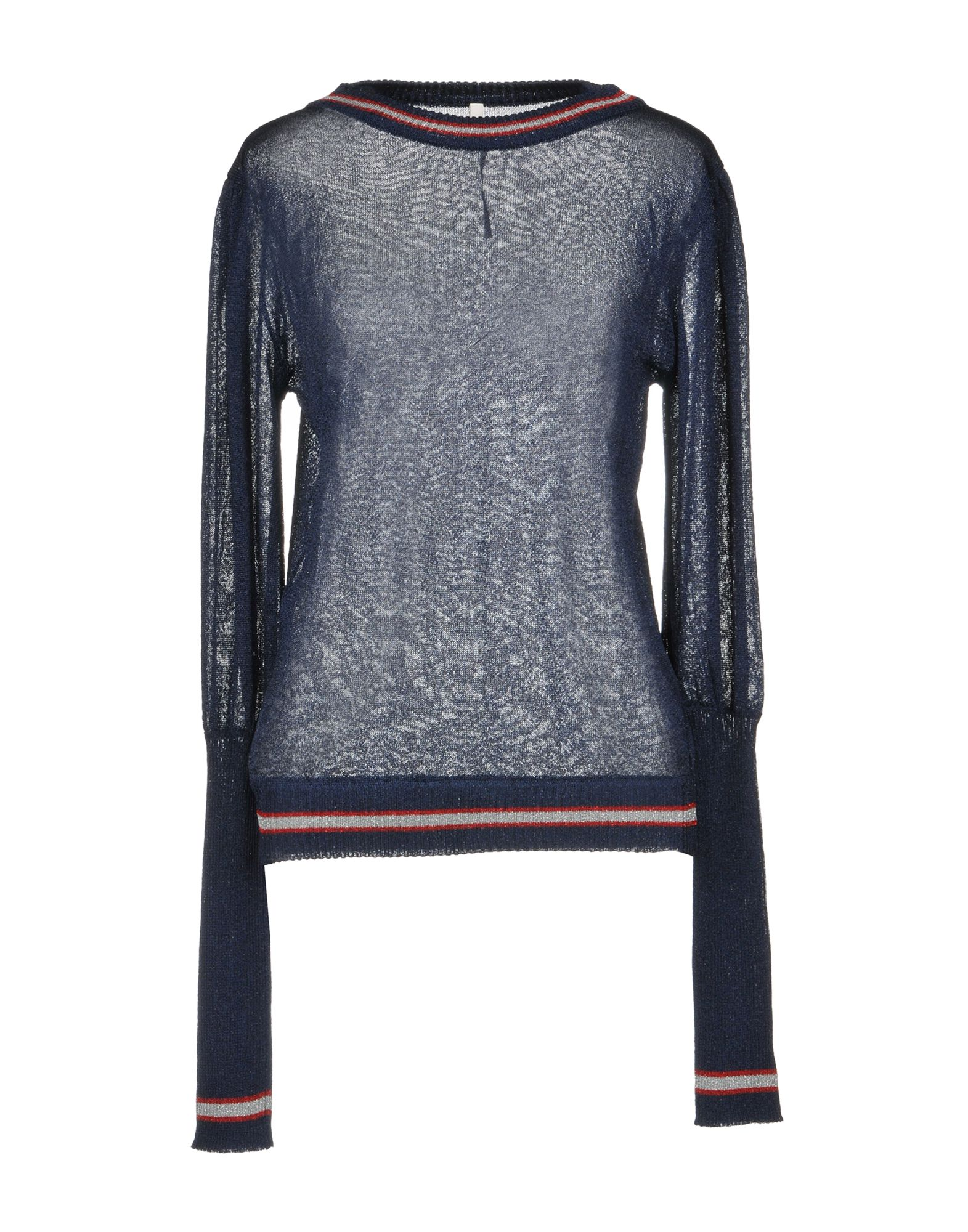 MIAHATAMI Sweater in Dark Blue