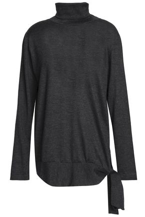 BRUNELLO CUCINELLI Cashmere and silk-blend turtleneck sweater