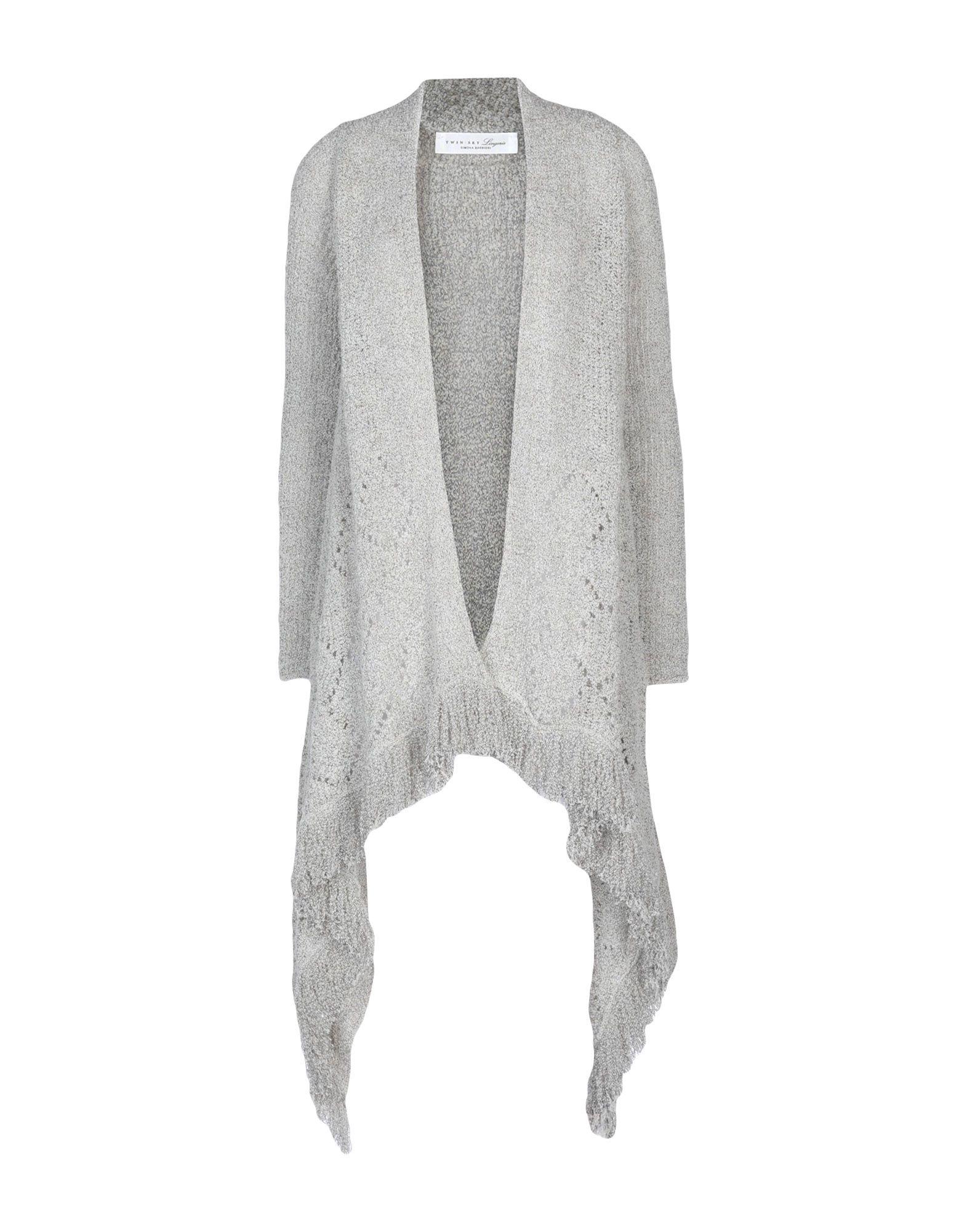 TWIN-SET LINGERIE Кардиган black mesh applique lingerie set