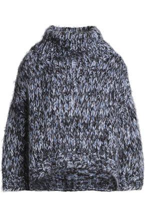 BRUNELLO CUCINELLI Marled mohair-blend sweater