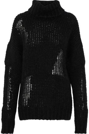 IRO Dalos open-knit turtleneck sweater