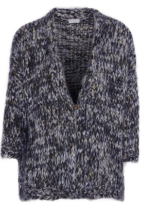 BRUNELLO CUCINELLI Ribbed mohair-blend cardigan
